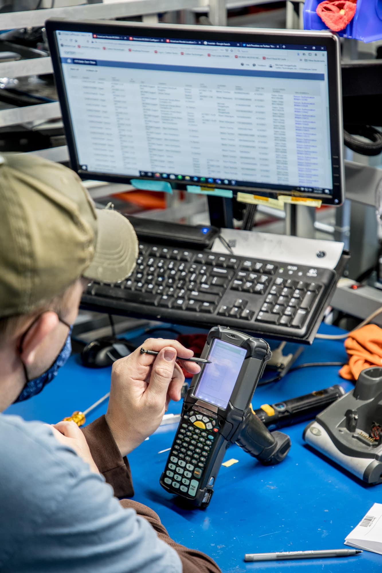 equipment repair process mc9090 entitlement