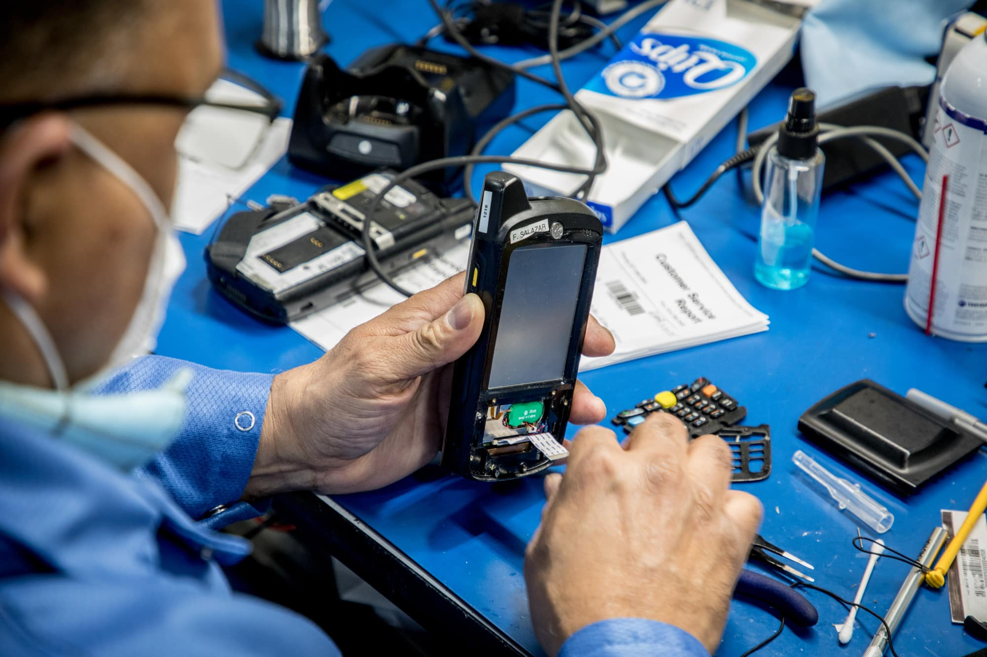 diagnostics and repair for