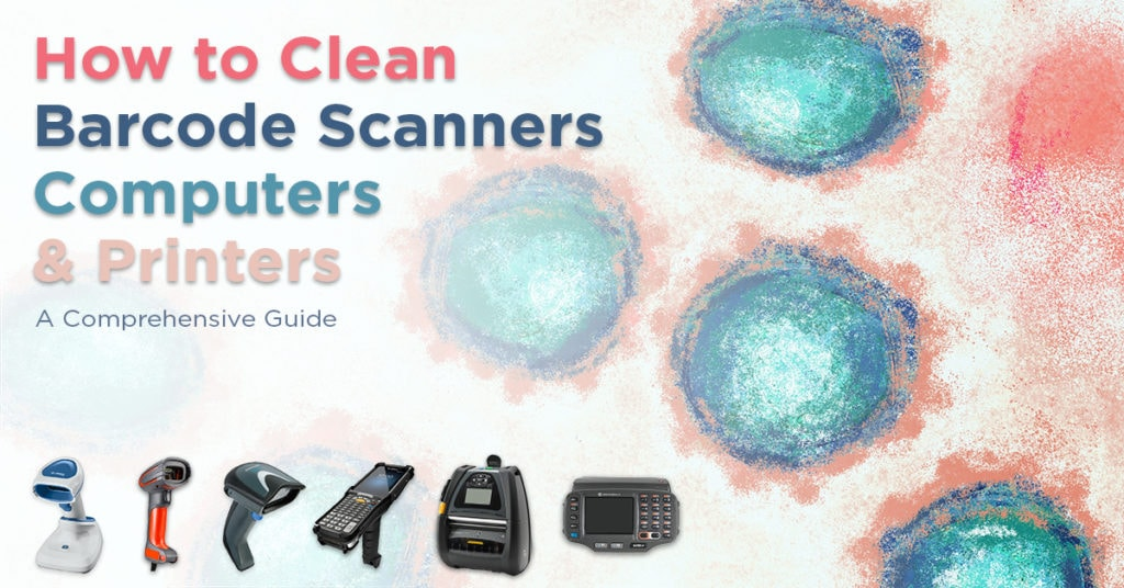 clean barcode scanners computers printers full guide