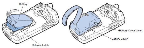 MC7596 Inserting Battery.3