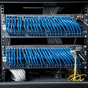 network cabling server rack carlton technologies procurement