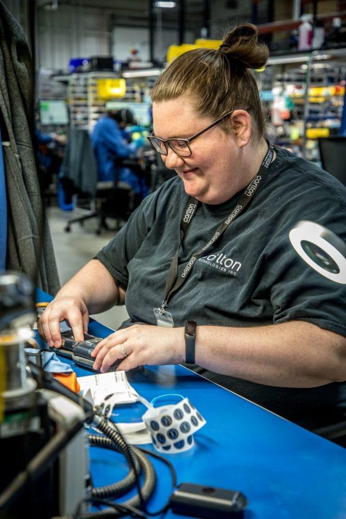 equipment repair technician at Carlton Technologies
