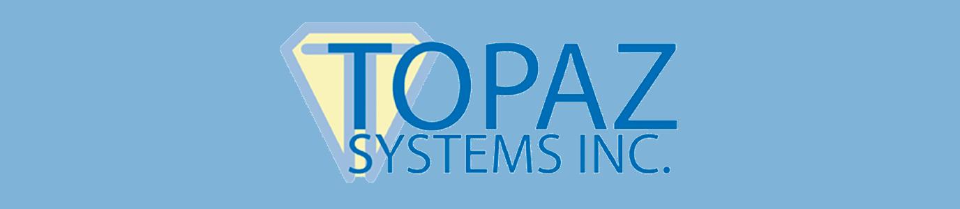 Topaz Colored Logo