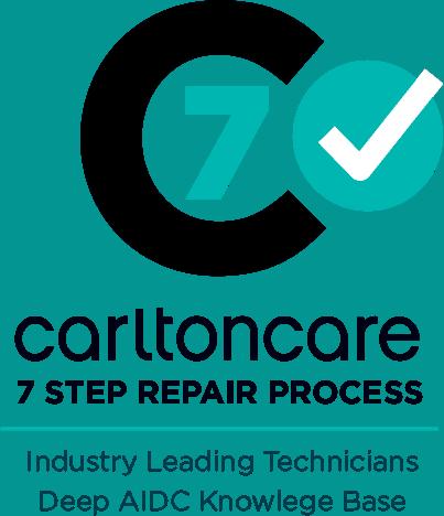7 step repair process carltoncare service