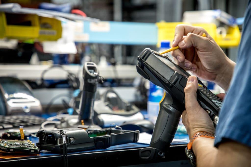 carlton technologies equipment repair process fixing mc9190