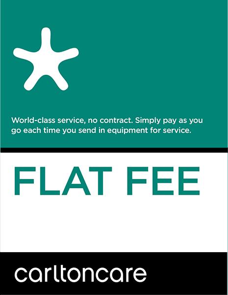 flat fee repair plan carltoncare