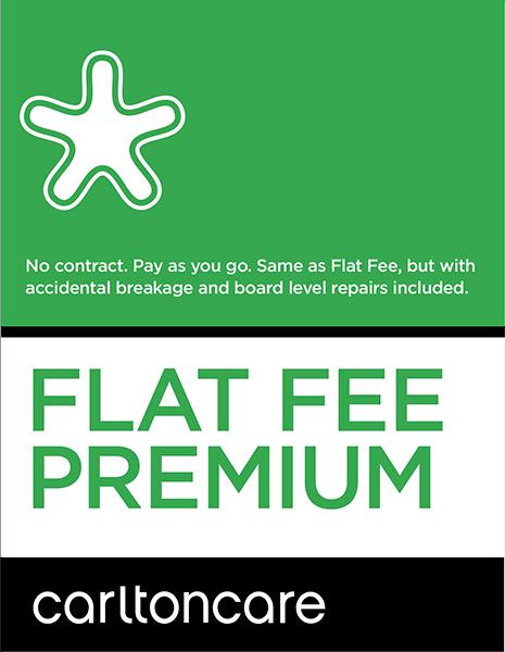 flat fee premium repair plan carltoncare